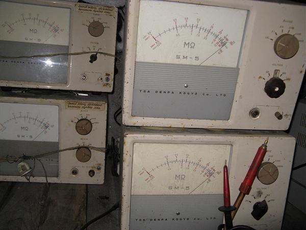 Продам SM-5 , Мегомметр , цена за 4шт , опт , Япония