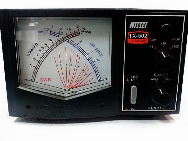 Продам Прибор для измерения КСВ и мощности NISSEI TX-502
