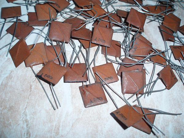 Продам Новые конденсаторы 100n - 100 нанофарад - 0,1 Мкф