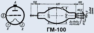 Продам Мощные триоды гм-100