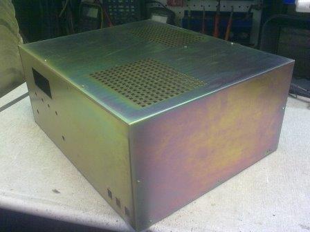 Продам Изготовление корпусов для усилителей мощности