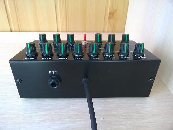 Продам [лот 2]8-ми пол-й EQ COMP Gate Echo для IC7300
