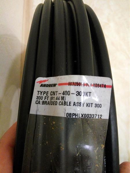 Продам Кабель CNT-400 (8D-FB) + разъемы PL259