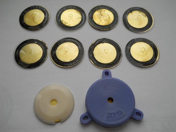 Продам Звукоизлучатели пьезоэлектрические типа ЗП, 10 шт.