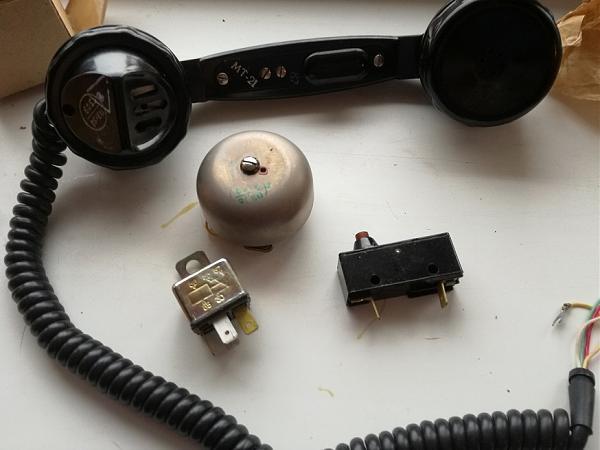Продам мт-21 (микротелефон), трубка , РГЗ 810 С09  звонок