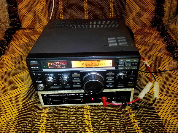 Продам Трансивер KB icom IC-726S (Айком-726с)