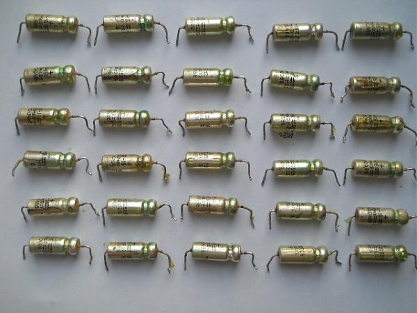 Продам Конденсаторы К52-1Б, 150мкФ, 50В, 30 штук, 1986 г