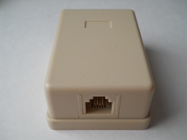 Продам Розетка телефонная настенная RJ11 (6P4C) 1 порт