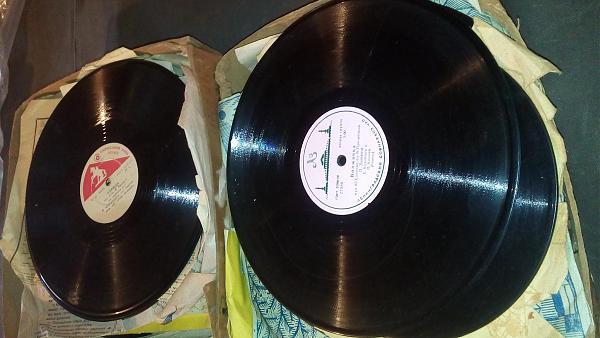 Продам Старинные гампластинки 50 годов