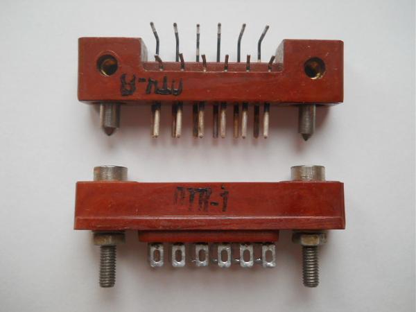 Продам Разъёмы рппм24-12Ш3, новые, 2 штуки, СССР, 1975 г
