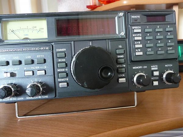Продам Радио ресивер Icom IC-71E (Чувс-сть 0,15мкв SSB )