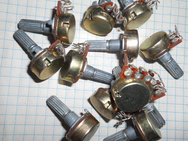 Продам Импортные переменные резисторы