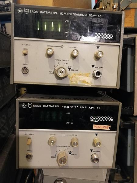 Продам Я2М-66 блок индикаторный для измерителя мощности