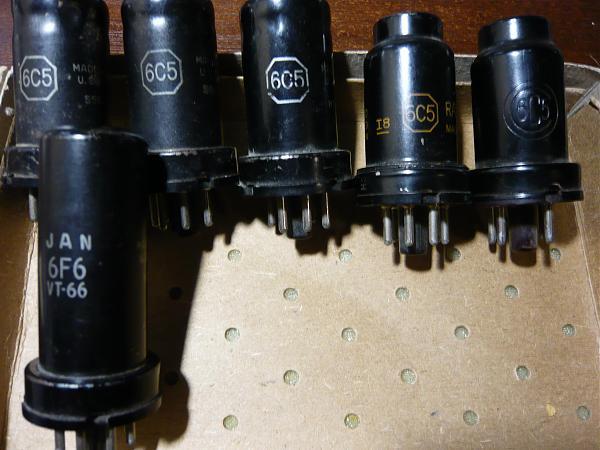 Продам Железные лампы в метал.корпусе 6С5.6J5 . 6B8