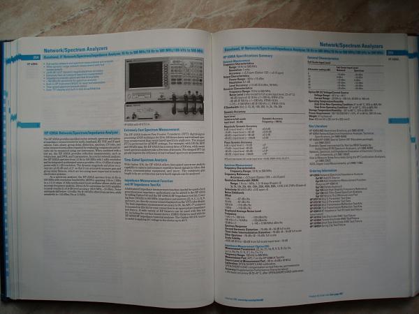 Продам Подробный Каталог HP Agilent Technologies по КИП