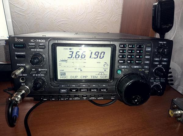 Продам ICOM IC-7400 (обмен на YAESU FT-950)