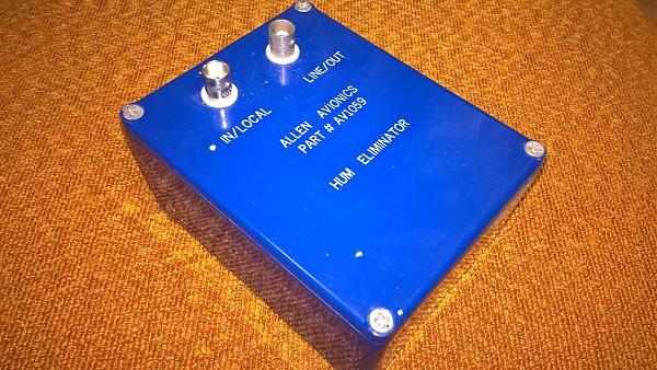 """Продам Вч-трансформатор """"Hum eliminator AV 1059""""."""