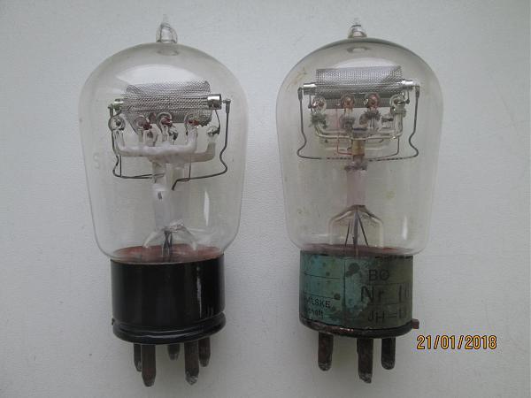 Продам Импортные радиолампы. ВО, ВО-1.