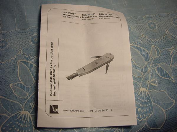 Продам Кроссировочный инструмент LSA-plus -Krone