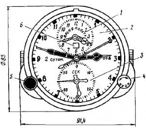 Продам Авиационные часы АЧС-1