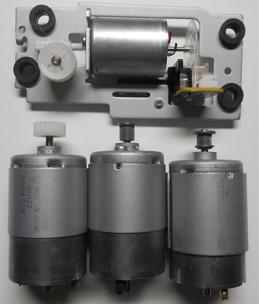 Продам Моторы от МФУ RS445, RK-370CA