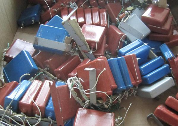 Продам Конденсаторы МБГО-1 10мкФх160В