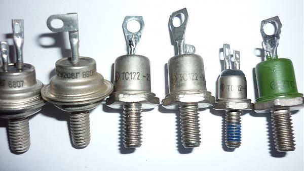 Продам Симисторы КУ208Г, ТС112, ТС122