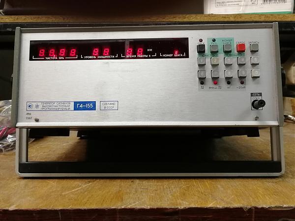 Продам Г4-155 генератор сигналов СВЧ