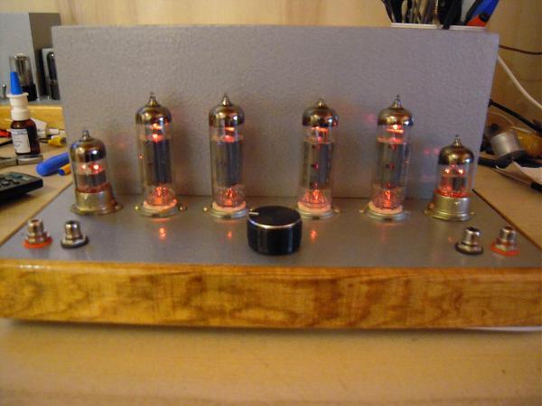 Продам Ламповый двухтактный стереоусилитель