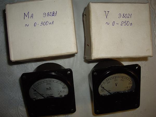 Продам Вольтметр +миллиамперметр