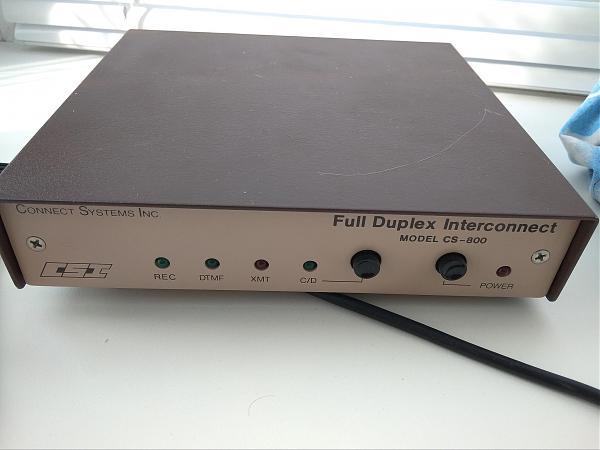 Продам Full Duplex lnterconnect cs-800