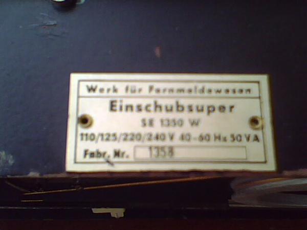 Продам радиоприемник einschubsuper