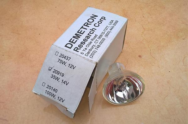Продам Лампа галогеновая 20919/20437 Demetron