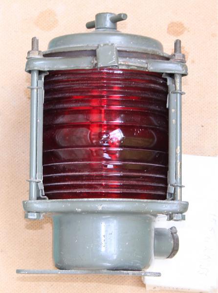 Продам бортовой малый левый. габаритный фонарь катера.
