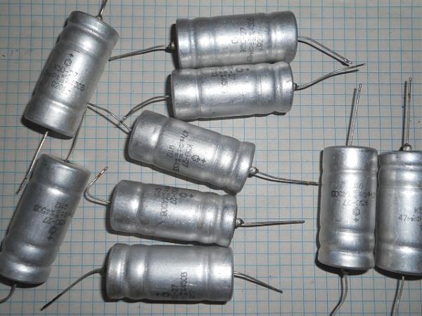 Продам аксиальные К50-27,К50-24, К50-35 до 450в