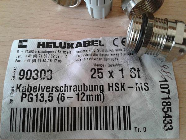 Продам Кабельный ввод HELUKABEL HSK-MS PG13,5