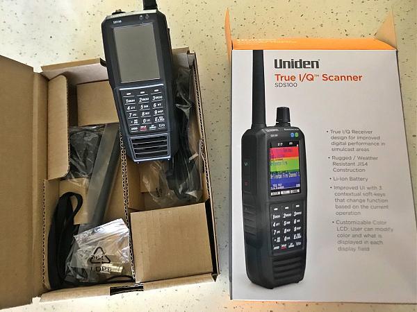 Продам Uniden SDS100 новый революционный аппарат 2018г.