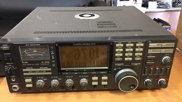 Продам трансивер icom ic-970
