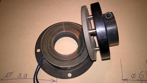 Продам Электромагнитная муфта для электромотора.
