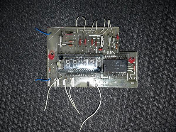 Продам Электронные часы на КР145ИК1901