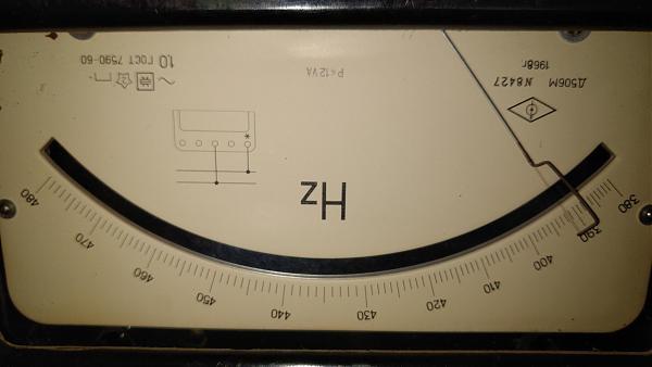 Продам частотомер Д506М 380-480ГЦ 1968г.