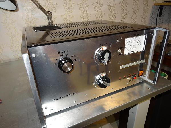 Продам Усилитель мощности на лампе ГУ-78б