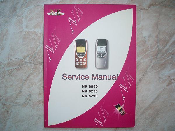 Продам Service Manual на NOKIA 8210, 8250, 8850.