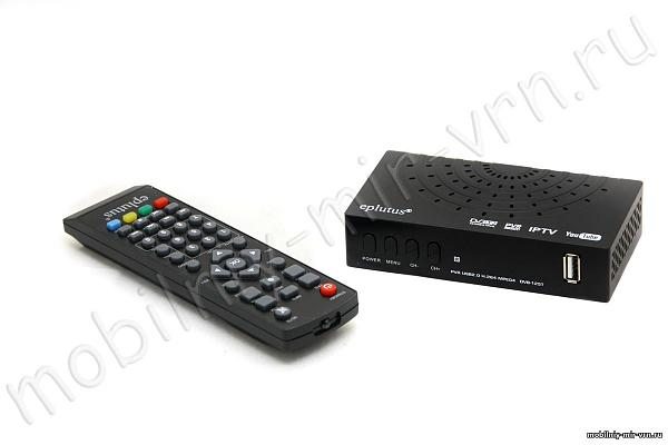 Продам Цифровой HD TV-тюнер DVB-T2 Eplutus DVB-123Т