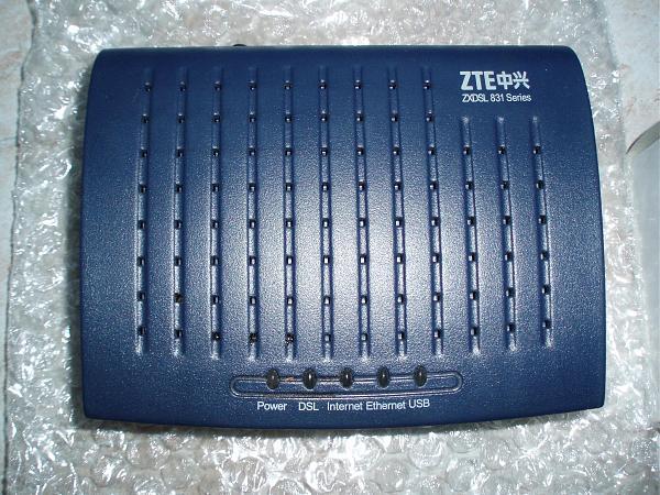 Продам ADSL Modem (мoдем и рoутер) ZTE ZXDSL 831AII СТРИМ