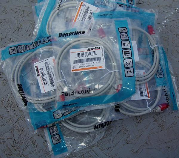 Продам Патч-кордPC-LPM-UYP-RJ45-RJ45-C5e-1,0M-WH