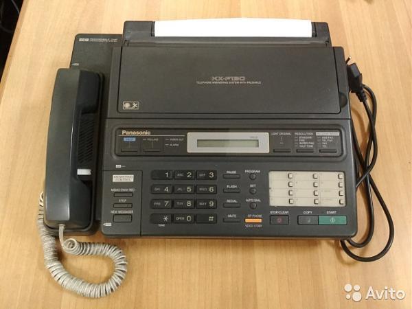 Продам  телефон-факс Panasonic KX-F130