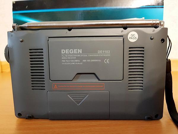 Продам Degen DE-1103