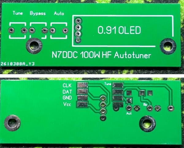 Продам Антенный тюнер N7DDC. Плата, комплектация, сборка