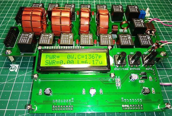Продам Автоматический антенный тюнер N7DDC на 300 Вт